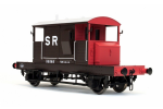 Dapol 7F-100-005 SR Pill Box Brake Van 55585 SR Brown/Red Large Letters